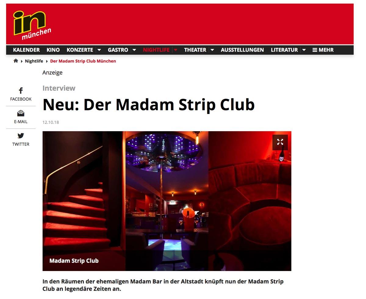 In München - Stadtmagazin Interview